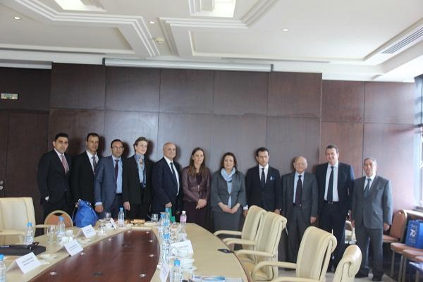 Une d l gation de la chambre de commerce australo arabe for Chambre de commerce tunisie
