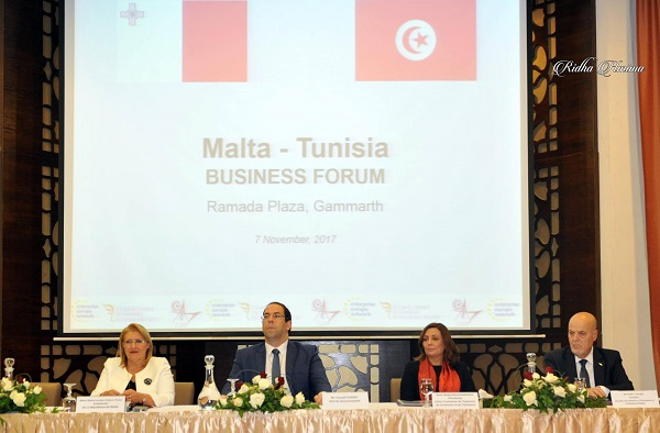 Forum d'affaires Tuniso- Maltais